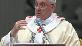 En la Epifania el Papa Francisco: