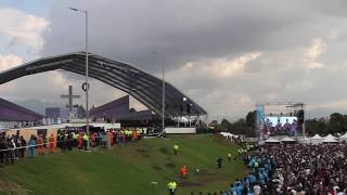 Resumen de la Visita Papa Francisco Colombia 2017